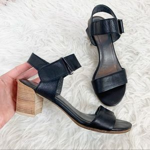 STUART WEITZMAN Slingback Sandal Leather Heel 7
